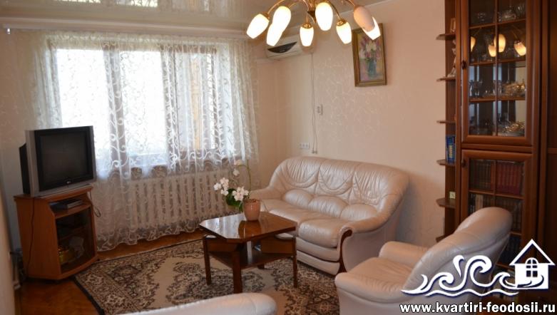2-комнатная квартира в Феодосии-ул. Крымская,84