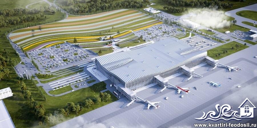 Инфраструктура аэропорта Симферополь