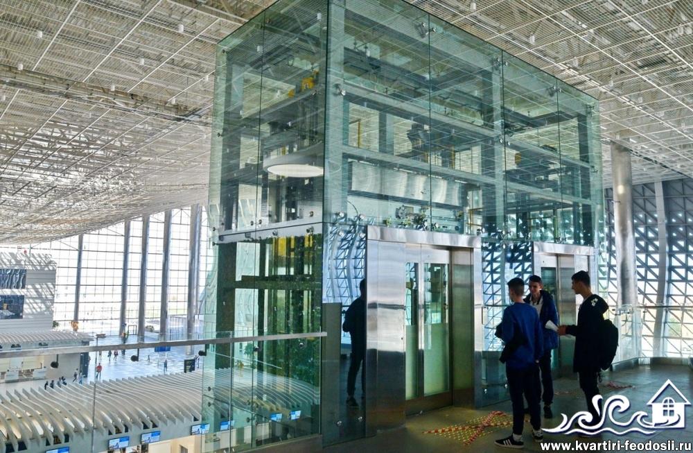 Лифты в аэропорту Симферополя