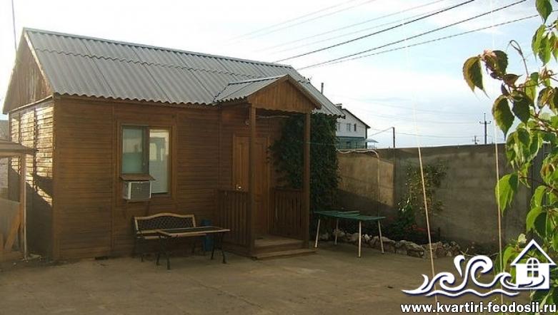 1-комнатный домик в Береговом-ул. Грина