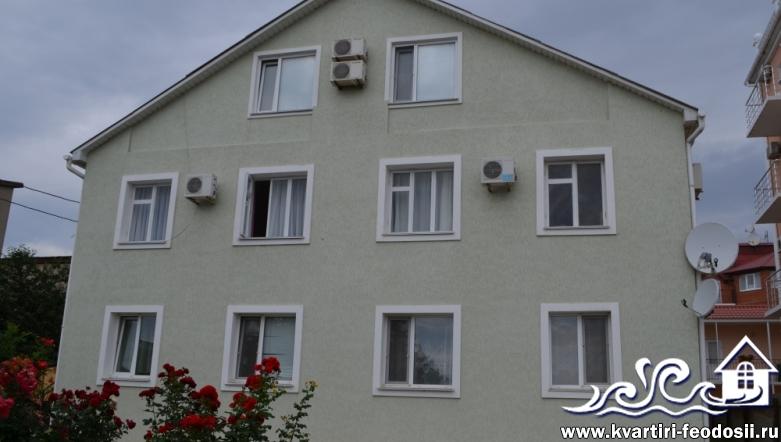 Гостевой дом в Береговом – пер.Лазурный