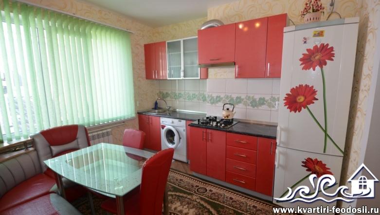 2-комнатный номер в частном секторе Феодосии-ул.Куйбышева