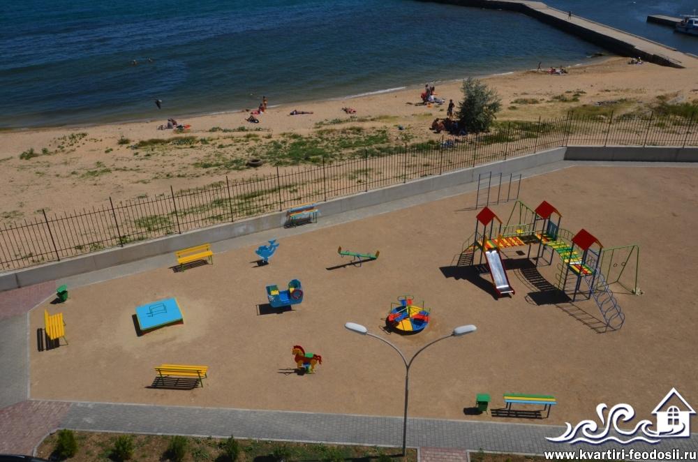 Детская площадка на Эллингах Консоль