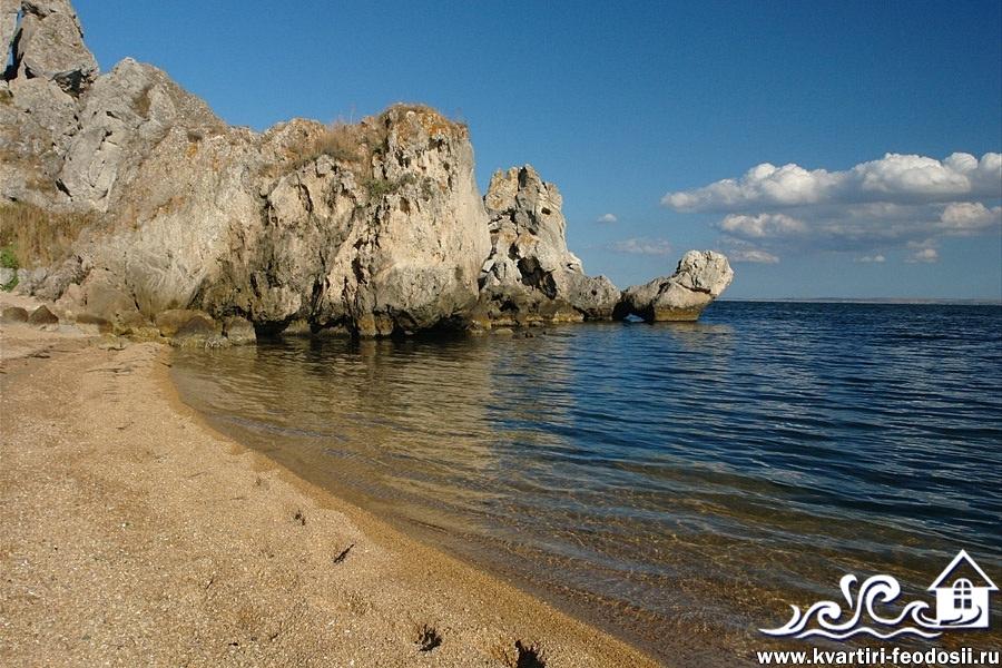 Мыс Казантип пляж