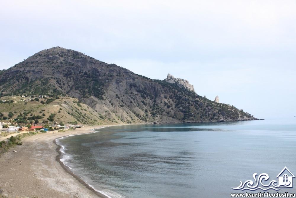 Пляж в с.Весёлое
