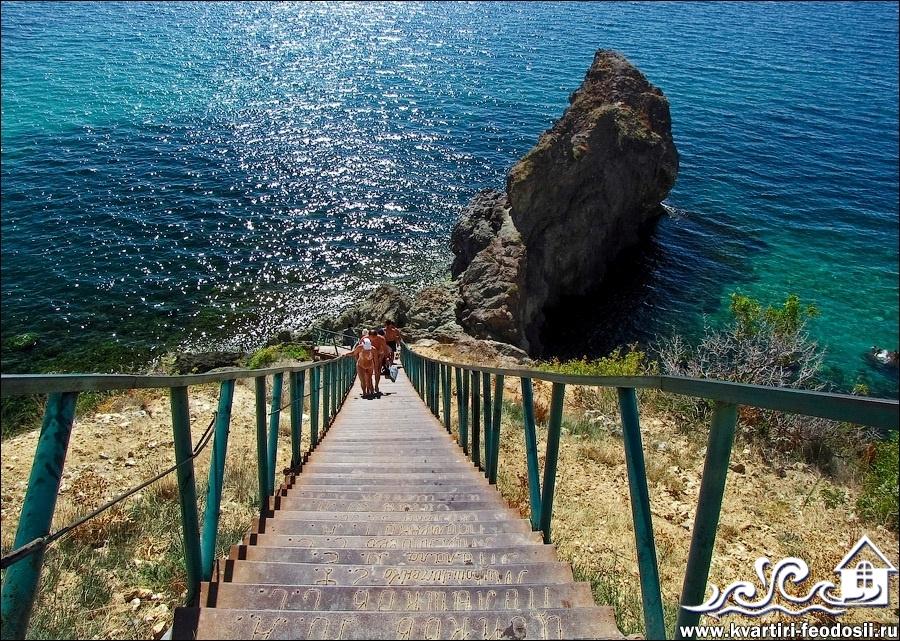 Яшмовый пляж у мыса Фиолент