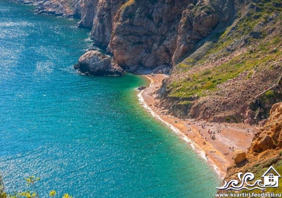 Пляж Затерянный мир в Балаклаве