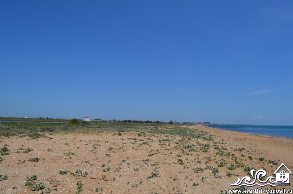Золотой пляж в Приморском