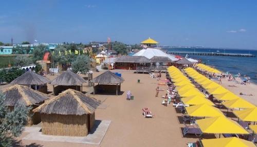 Пляж 117 км -всё для отдыха