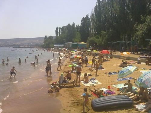 Детский пляж санатория