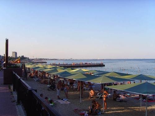 Пляж в Феодосии 1-й городской