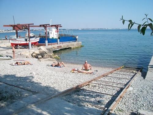 Пляж Феодосии на Карантине