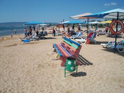 Пляж Феодосии пансионата