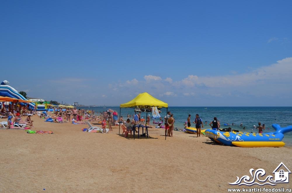 Развлечения для детей на пляже возле эллингов Консоль