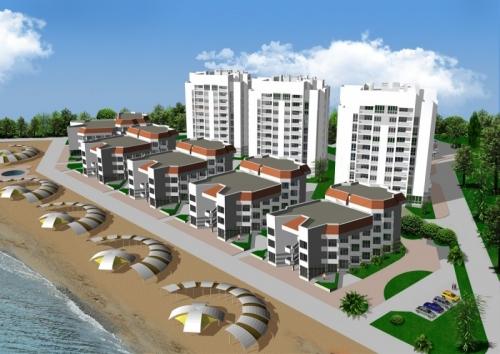 Проект эллингов Консоль на Черноморской набережной