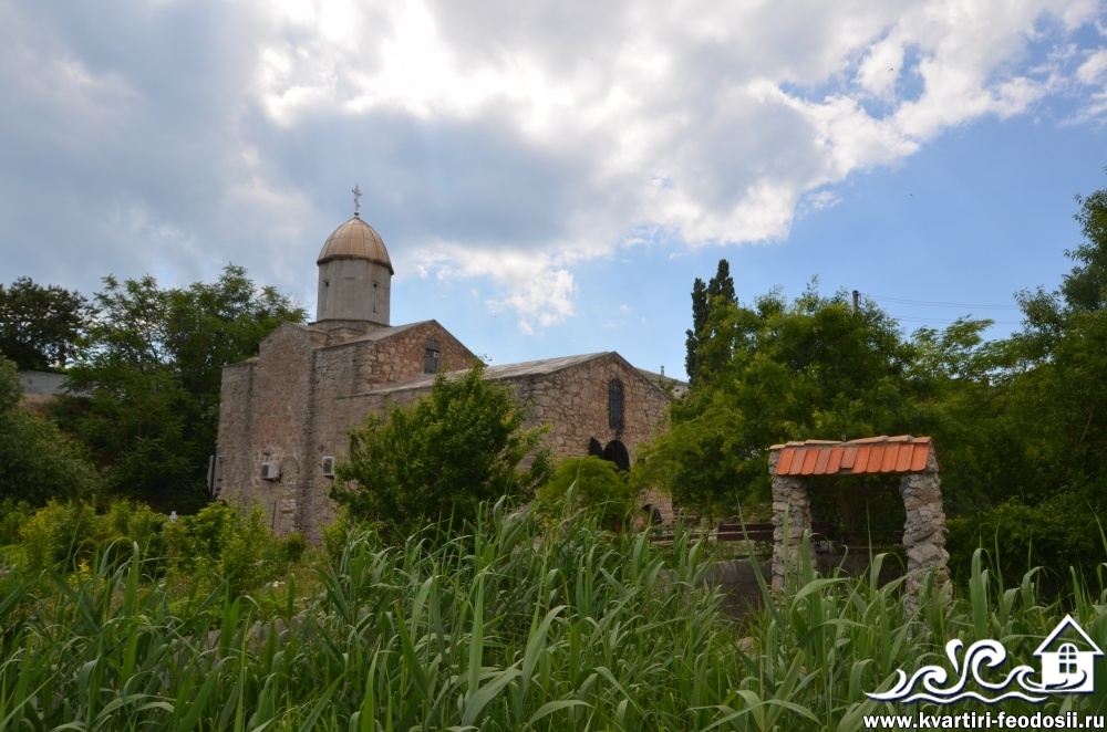 Церковь Иверской Божьей матери в Феодосии
