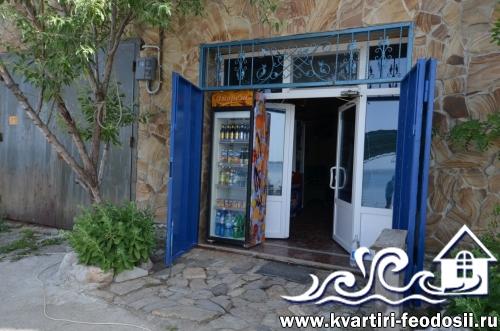 Магазин на территории эллингов Прибой