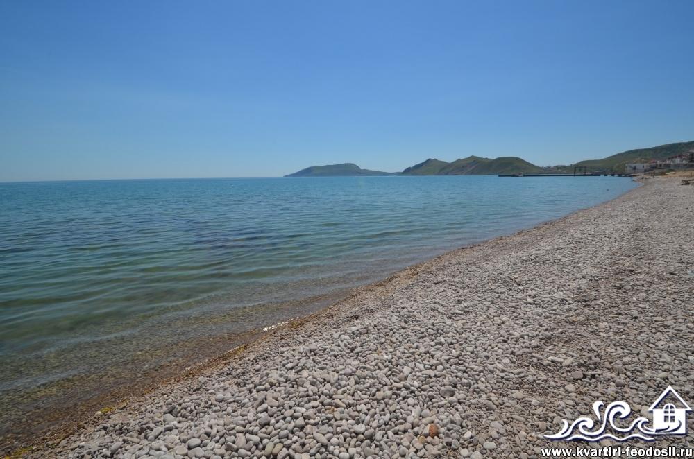 Пляж на эллингах Старт в Орджоникидзе