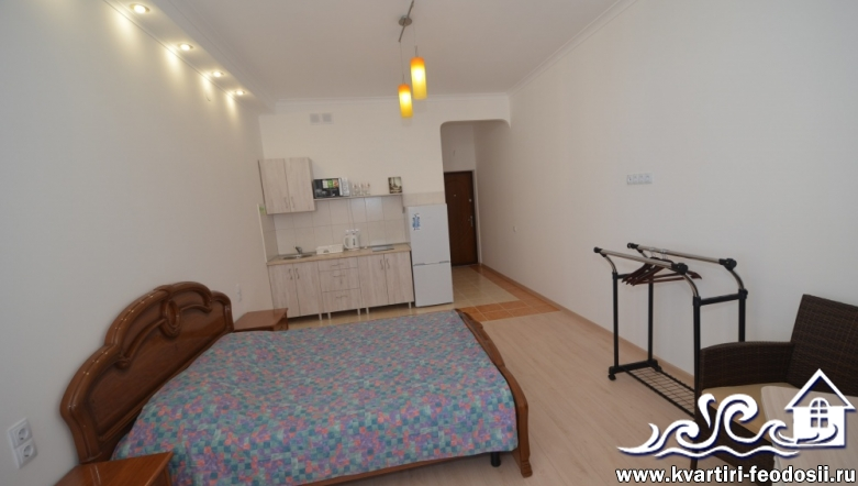 1-комнатная квартира-студия №14а-ул. Черноморская набережная,1-В