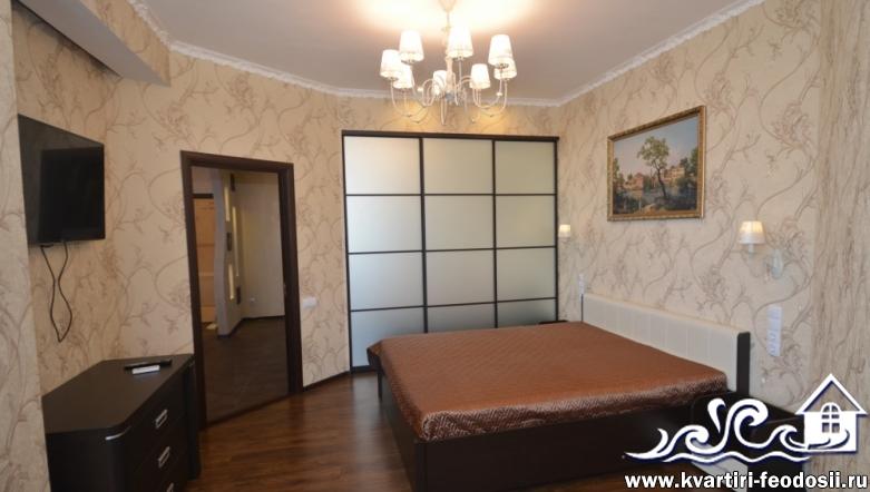 2-комнатная квартира люкс в Феодосии на Черноморской набережной, 1-Б