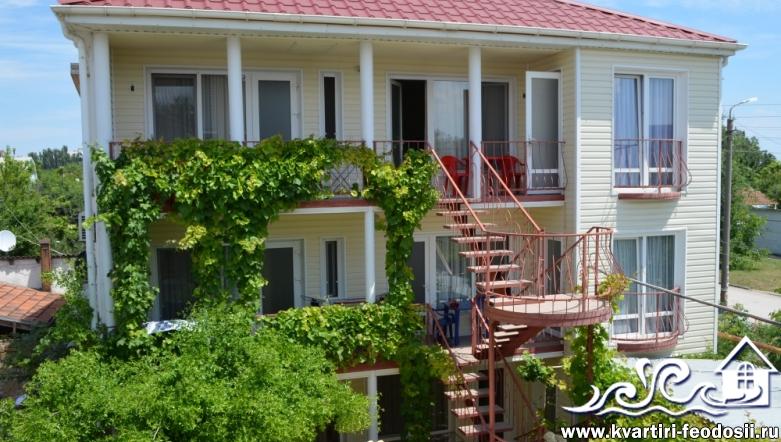 Мини-отель в Феодосии-ул. Комиссарова