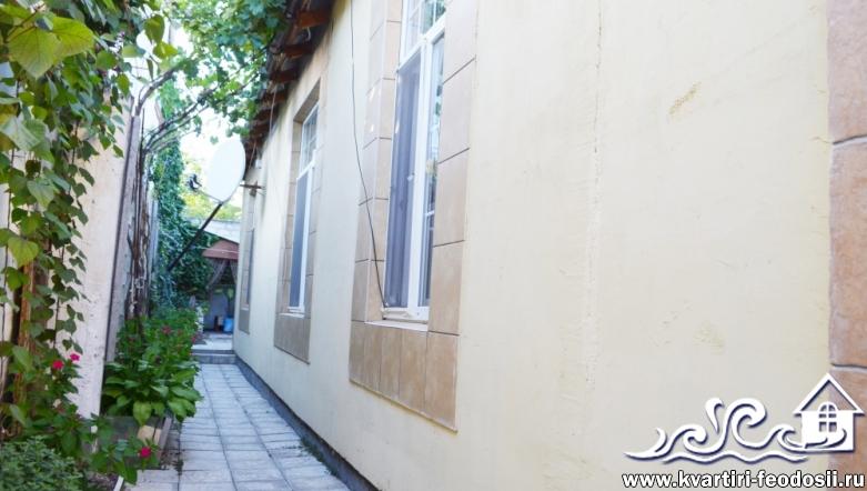 3-комнатный дом в Феодосии-ул. Речная – 8 спальных мест (2+2+2+2)