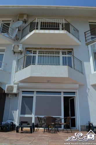Общий вид эллинга на 4 этажа