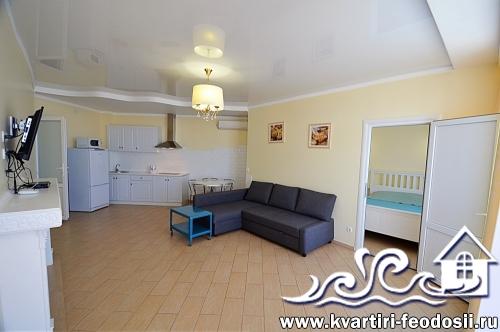 Квартира у моря на Черноморской набережной посуточно