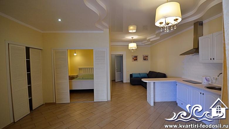 Аренда квартиры на Черноморской набережной №4 – 4 спальных места (2+2)