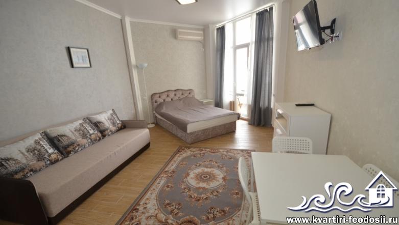 Жилье у моря в Феодосии квартира №1401-ул.Черноморская набережная, 1-Е