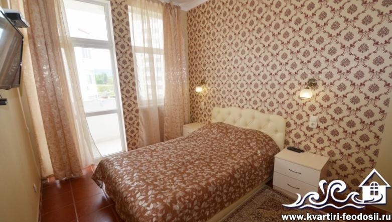 Аренда квартиры 2 комнаты у моря №5315-ул. Черноморская набережная, 1-Б