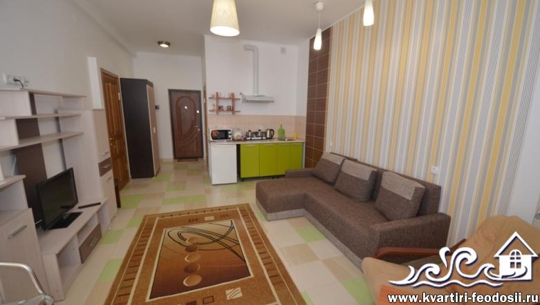 1-комнатная квартира №1101-ул. Черноморская набережная,1-Е
