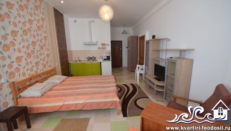 1-комнатная квартира №1102-ул. Черноморская набережная,1-Е