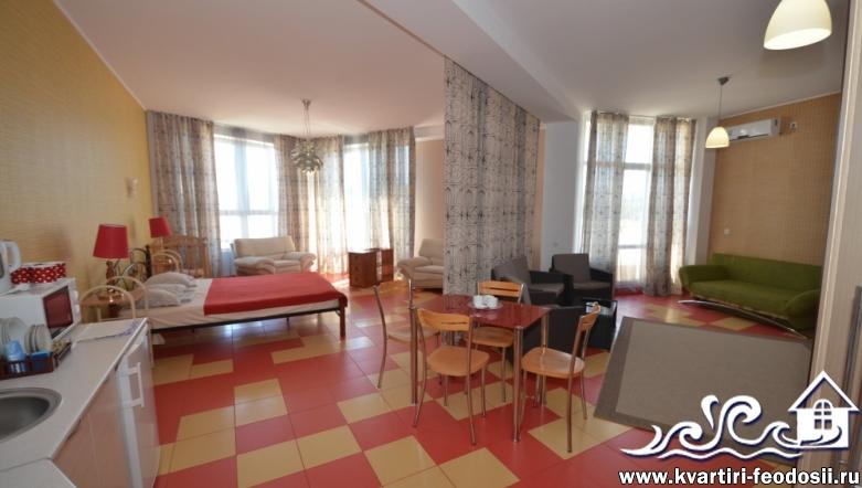 1-комнатная квартира №1207-ул. Черноморская набережная,1