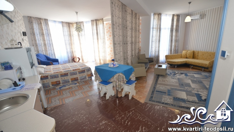 1-комнатная квартира №1407-ул. Черноморская набережная,1