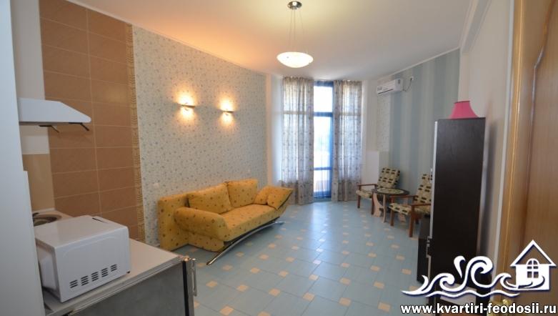 1-комнатная квартира №1409-ул. Черноморская набережная,1-Е