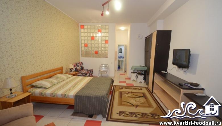 1-комнатный номер у моря №5102-ул. Черноморская набережная, 1