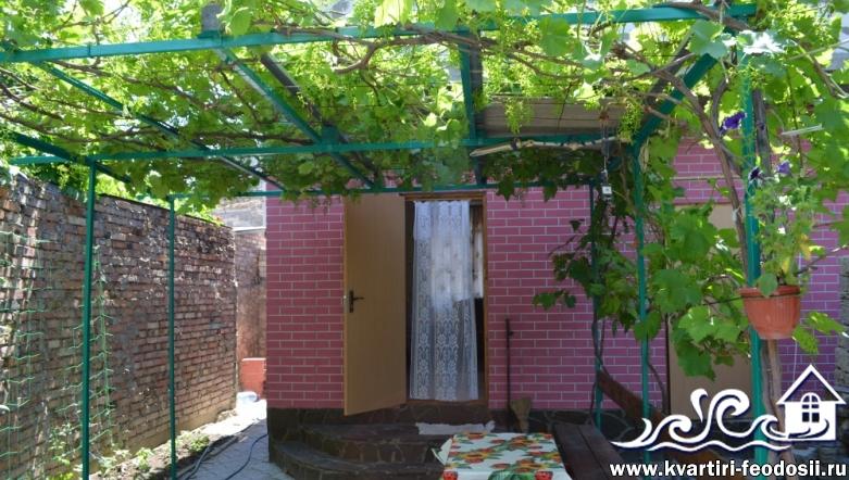 1-комнатный домик в центре Феодосии-пер.Конечный