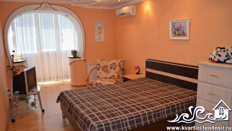 1-комнатная квартира в Феодосии-ул. Куйбышева, 57А