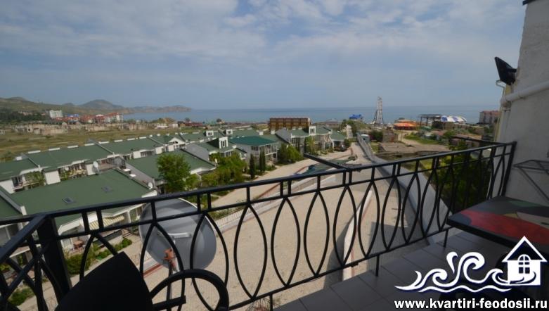 2-комнатные апартаменты у моря в Коктебеле №30-31