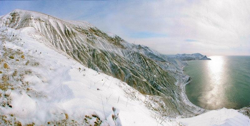 Орджоникидзе зимой