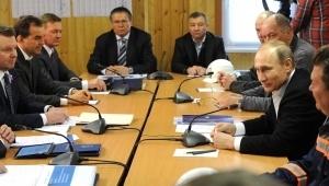 Визит Путина в Крым 18 марта 2016 г.