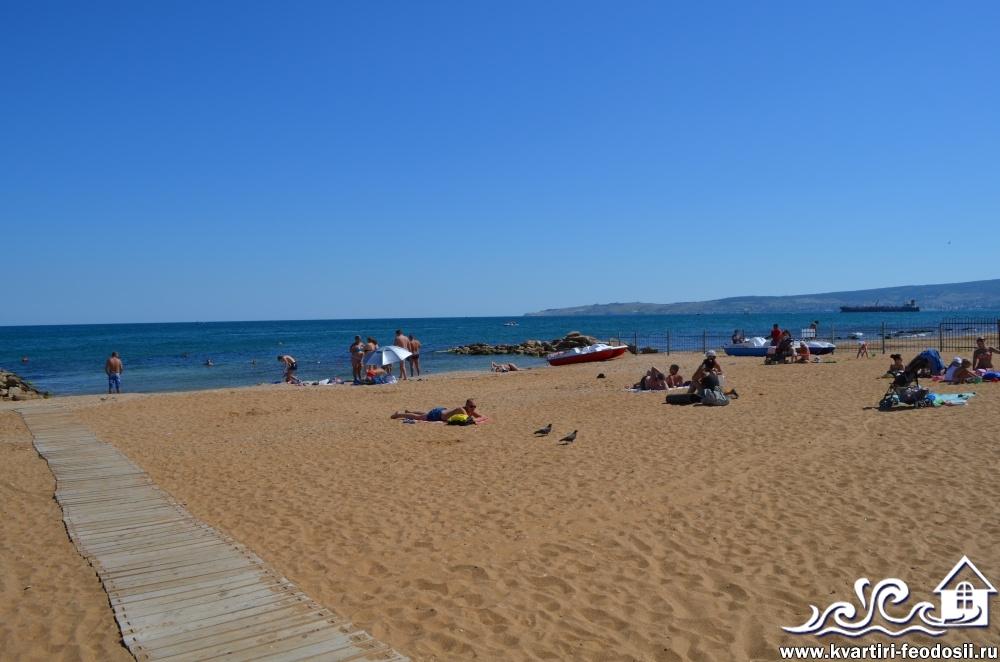 золотой пляж берег