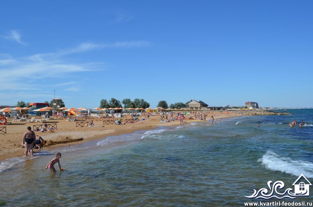 море Золотого пляжа