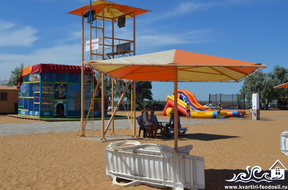 Золотой пляж 117км